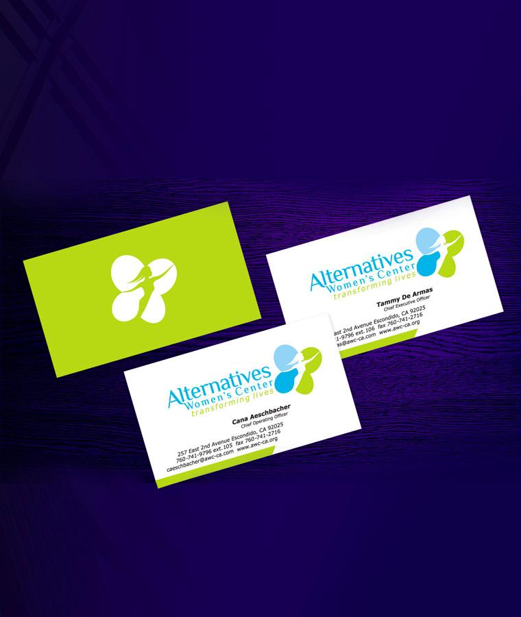 Alternatives womens center business cards perraultcreative categories colourmoves